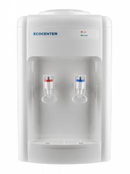 Кулер для воды с нагревом без охлаждения (диспенсер) ECOCENTER G-T16T белый