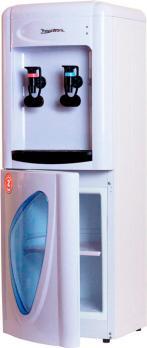 Кулер для воды с нагревом без охлаждения Aqua Work 0.7-LKR белый