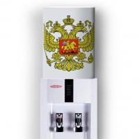 Чехол на бутыль 19 литров (кулпак)  печать на белом фоне